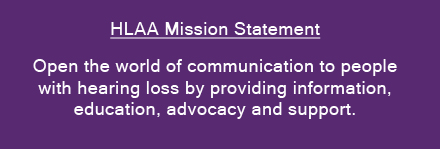 HLAA Mission Statement